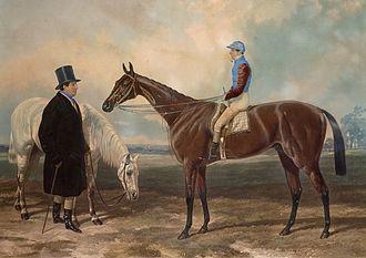 Newminster (horse) - Engraving of Newminster