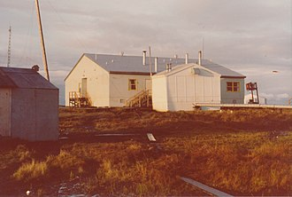 Newtok, Alaska - Newtok school in 1974