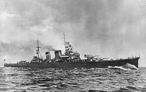 Aoba-class cruiser - Image: Nh 97727
