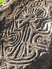Nicaragua Ometepe pétroglyphes 1
