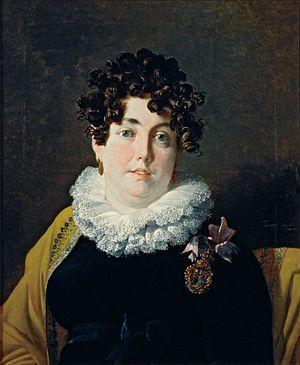 Nicolas-Antoine Taunay - Portrait of the Marchioness of Belas (1816)