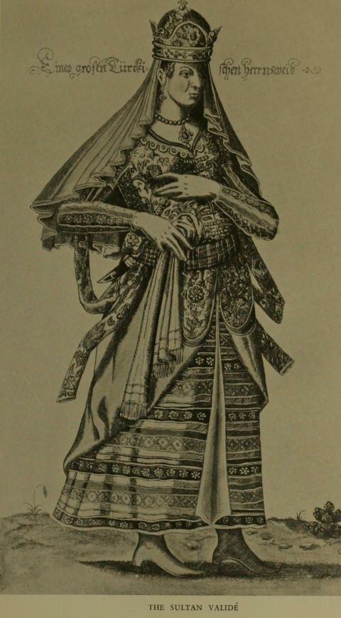 Nicolas de Nicolay- La grande dame turcque