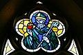 Niederwaldkirchen Pfarrkirche - Kirchenfenster 3 Augustinus.jpg