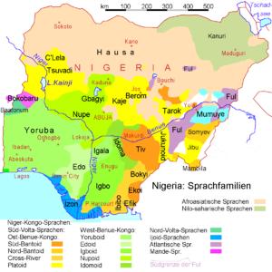 Language Groups and important languages of Nigeria