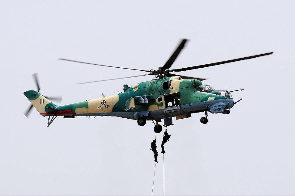 Nigerian Air Force Mil Mi-24V Iwelumo-1