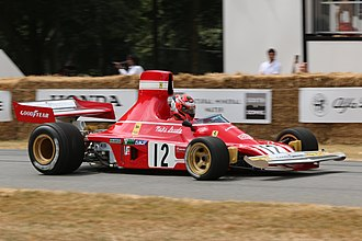 Ferrari 312B - 312B3-74 in Goodwood Festival of Speed 2018.