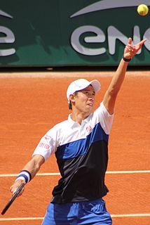 Kei Nishikori Japanese tennis player