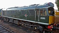 No.D5185 Castell Dinas Bran (Class 25) (6779271791).jpg