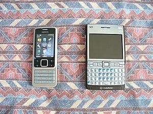 nokia 6300 e61i e61i-1 gsm mobile phone