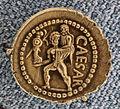 Nord africa, denario di giulio cesare, 47 ac.JPG
