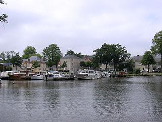 Nort-sur-Erdre - Le port de Nort-sur-Erdre.