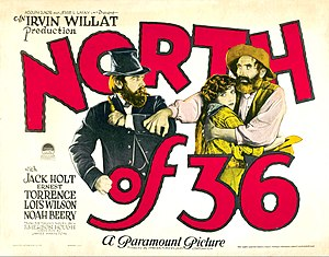 North of 36 - Film poster