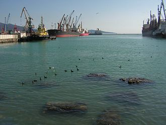 Novorossiysk - The port of Novorossiysk