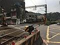 Nuannuan Street Level Crossing, Keelung City 20170305b.jpg
