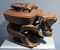 Nuova zelanda, scatola con figura di antenato, ante 1877.JPG