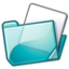 Nuvola filesystems folder cyan.png