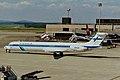 OH-LPF MD-83 Finnair ZRH 31AUG98 (6774009028).jpg