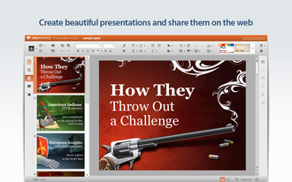 OnlyOffice - Image: ONLYOFFICE presentations editor