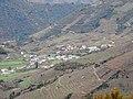 O Pombar, Abeleda, A Teixeira dende castelo de Castro Caldelas.jpg