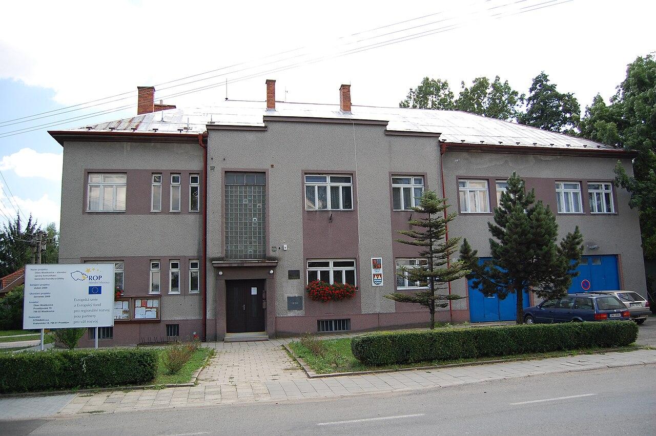 Soubor:Obecní úřad, Mostkovice, okres Prostějov.jpg – Wikipedie
