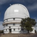 Observatory housing the Otto Struve Telescope at McDonald Observatory, an astronomical observatory located near the unincorporated community of Fort Davis in Jeff Davis County, Texas LCCN2014631158.tif