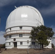Observatory housing the Otto Struve Telescope at McDonald Observatory, an astronomical observatory located near the unincorporated community of Fort Davis in Jeff Davis County, Texas LCCN2014631158