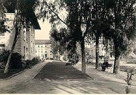 Occidental College in de jaren 1920.