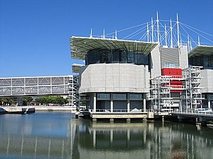 Oceanarium - The Oceanarium in Lisbon, Portugal