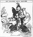 Of Course He'll Refuse - Carey Orr World War I cartoon 1918.jpg