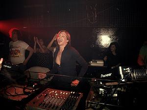 Offer Nissim - Offer Nissim spinning at TLV nightclub in Tel Aviv, Israel