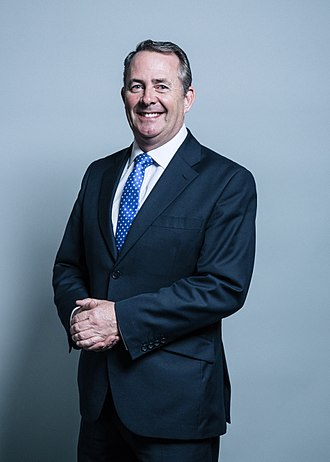 President of the Board of Trade - Image: Official portrait of Dr Liam Fox