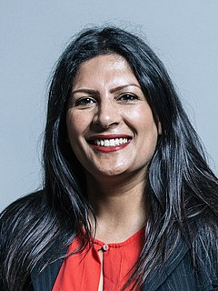 Preet Gill Labour Party MP for Birmingham Edgbaston, elected June 2017