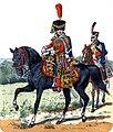 Officier et hussard du 6e régiment, 1804-1814.jpg