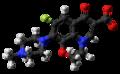 Ofloxacin zwitterion ball from xtal.png