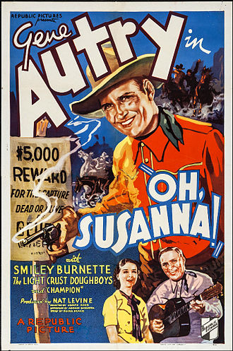 Oh, Susanna! (1936 film) - Image: Oh, Susanna! Poster