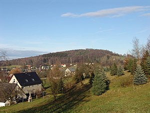 West Lusatian Hill Country and Uplands - Ohorn and the Schwedenstein