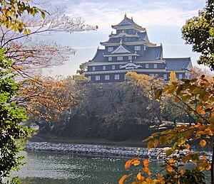 Okayama Castle, IMG 5839-5841 AutoAdaptive