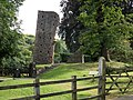 Okehampton Castle entrance gate, South Devon, England.jpg