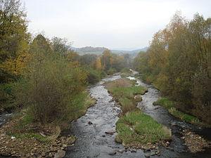Olza (river) - Image: Olše v Bukovci