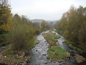 Bukovec (Frýdek-Místek District) - Olza River in the village