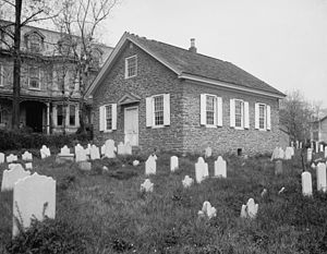 Old Mennonite Church, Germantown, Pennsylvania