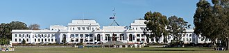 Stripped Classicism - Image: Old Parliament House Canberra Australia 01