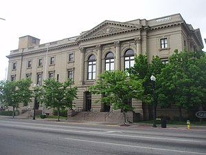 Weber County, Utah - Image: Old Post Office Ogden Utah