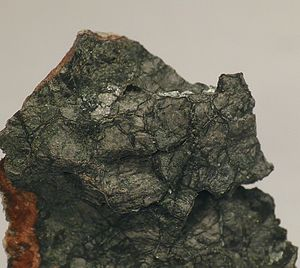 Oldhamite - Oldhamite (field of view: 1.5 cm)