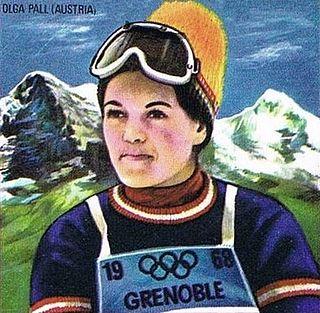 Olga Pall Austrian alpine skier