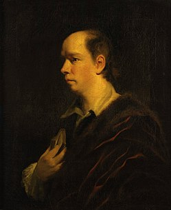 Oliver goldsmith by sir joshua reynolds