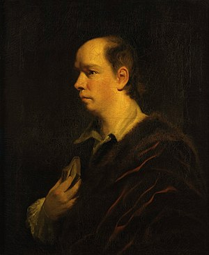 Oliver Goldsmith - Portrait 1769–70 by Joshua Reynolds