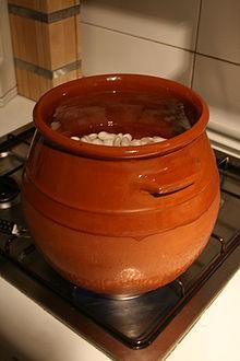 Olla de barro wikipedia la enciclopedia libre - Hoya para cocinar ...