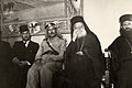 Omar Elwary the Mayor of Jerusalem in one of the Christian celebrations 1954..jpg