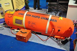 Defence Bioengineering and Electromedical Laboratory - One man HAPO bag.